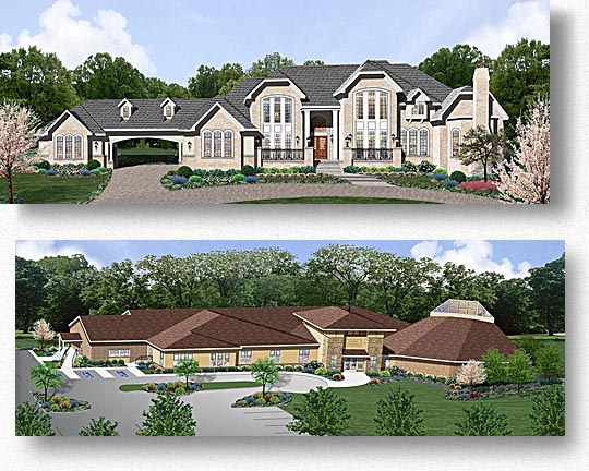 Residential, Commercial, & Industrial Renderings