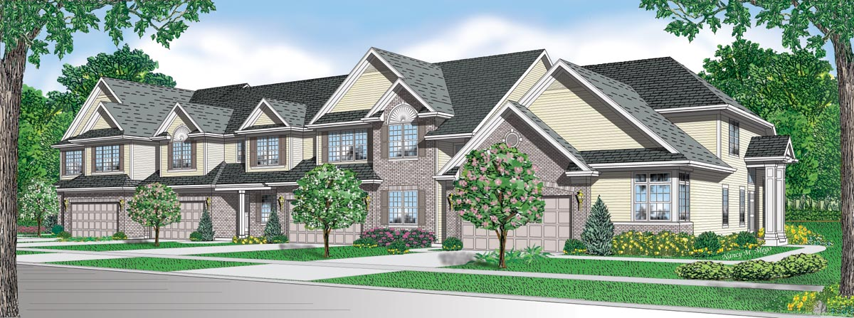 Ag townhome and commercial examples for Gladstone builders